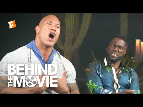 Dwayne Johnson & Kevin Hart Talk Body-Swapping and 'Black Adam' | Jumanji: The Next Level Interview - UCMawOL0n6QekxpuVanT_KRA