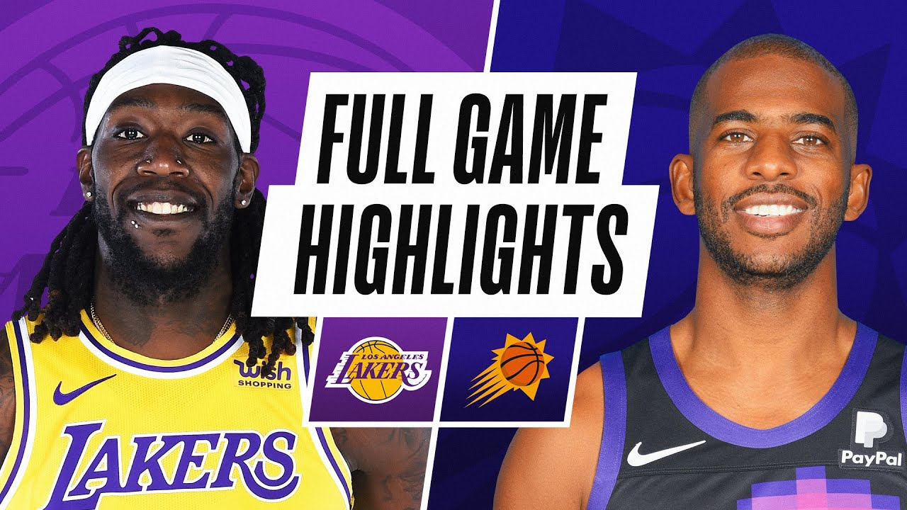 LAKERS at SUNS | FULL GAME HIGHLIGHTS | March 21, 2021