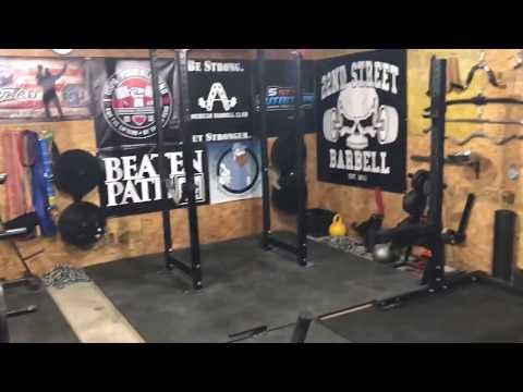 Canadian garage gym build tour audiomania lt