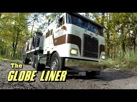 Tamiya Globe Liner truck - working in the woods - the movie. - UCfQkovY6On1X9ypKUr9qzfg