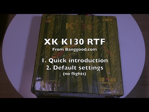 XK Innovations K130 Micro Brushless Helicopter - Part 1/2 - UCWgbhB7NaamgkTRSqmN3cnw