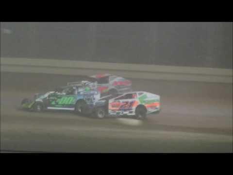 @SharonSpdwy Big Block Modified Johnny Zdelar Memorial Feature - dirt track racing video image