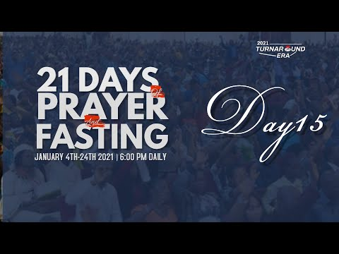 DOMI STREAM: DAY 15  ANNUAL PRAYER & FASTING   18, JANUARY 2021  FAITH TABERNACLE OTA