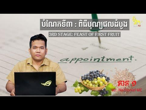 First Fruit V.1  Feb 27 , 2021