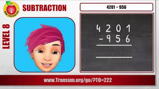 Subtraction video