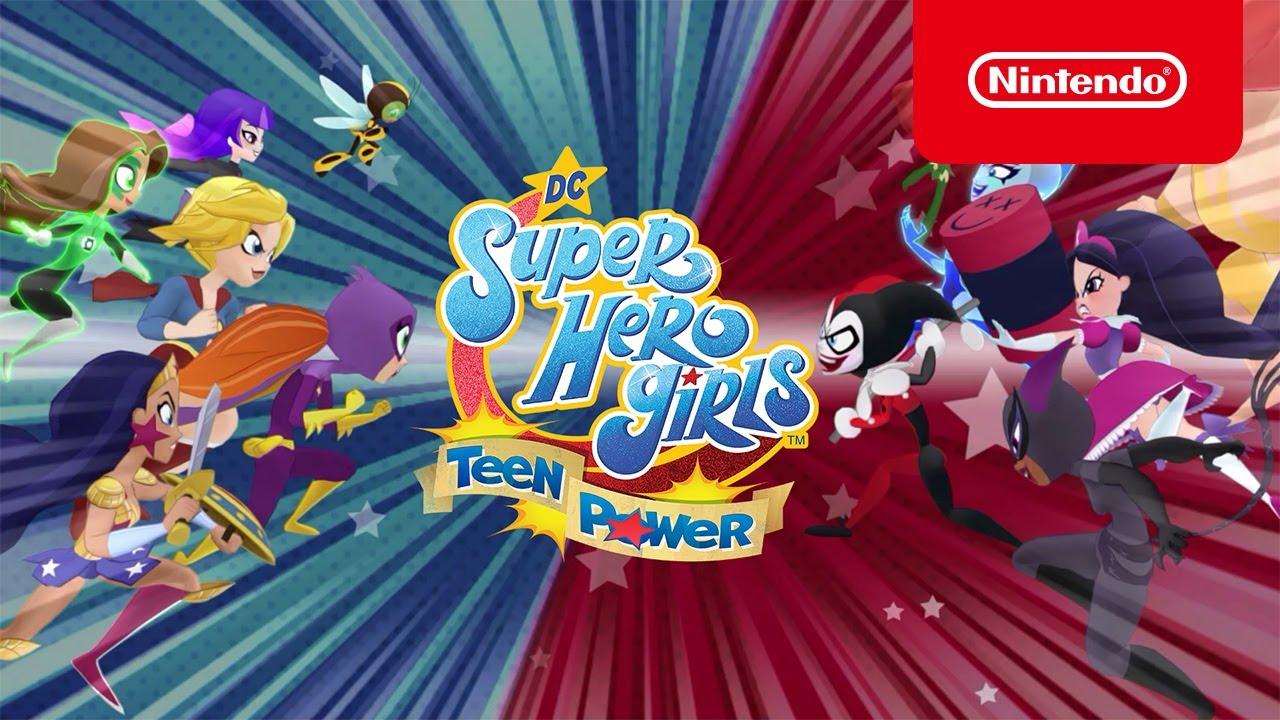 BREAKING: Metropolis High News! Trailer – DC Super Hero Girls: Teen Power – Nintendo Switch