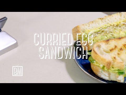 Ben's Curried Egg Sandwich