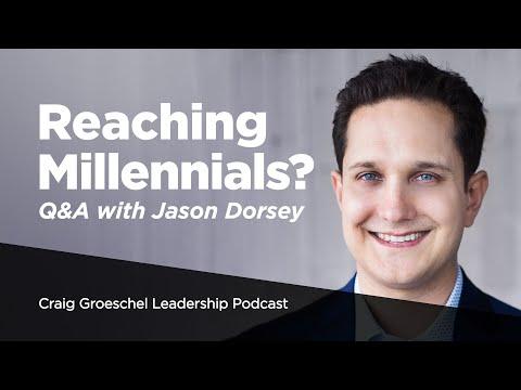Q&A with Gen Z and Millennial Expert Jason Dorsey - Craig Groeschel Leadership Podcast