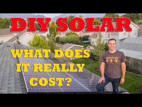 My DIY Rooftop Solar Installation - UChmVCRudpPpzwtXN8YwfIrg