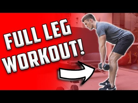 Full Leg Workout | 4 Leg Exercises With Dumbbells - UCOFCwvhDoUvYcfpD7RJKQwA