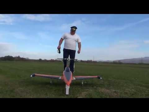 H-King SkySword 1200mm Orange 90mm EDF Jet (PNF) Maiden flight - UC3RiLWyCkZnZs-190h_ovyA