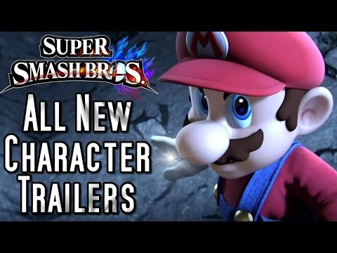 Super Smash Bros ALL New Character Trailers - UChnz1eAo9SfuDfqFZt1KFtA