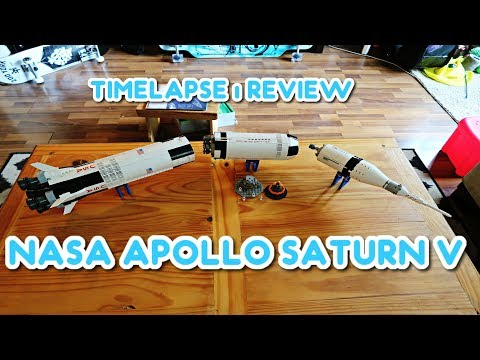 VLOG - LEGO NASA Apollo Saturn V Time-Lapse | Review - UC7HyvAyzpbtlw8nZ8a4oN1g