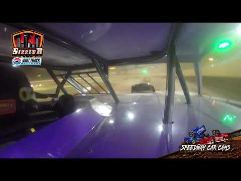 #96 Dalton Pannell - Street Stock - Carolina Sizzler 7-17-21 - In-Car Camera - dirt track racing video image