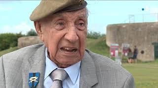 Jorge Sanjinez, vétéran péruvien de 102 ans, tenait à revenir en Normandie pour les commémorations