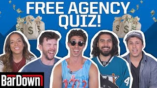 CAN YOU PASS THIS NHL FREE AGENCY QUIZ?