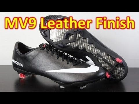 dddcc64b7 Nike Mercurial Vapor 9 IX Black Pack (Leather Finish) - Unboxing + On Feet