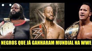 NEGROS QUE JÁ GANHARAM TÍTULO MUNDIAL NA WWE