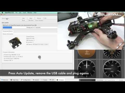 OpenPilot CC3D Multiple Flight Modes and In-Air Gain Tuning