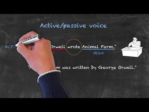 Modals and Passive Voice - Active vs. Passive Voice