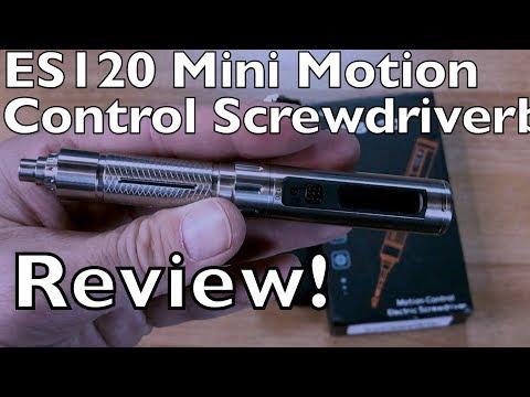 ES120 Mini Motion Control Screwdriver - UCTa02ZJeR5PwNZK5Ls3EQGQ
