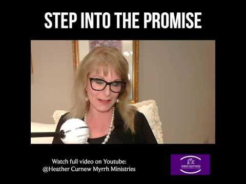 Step Into The Promise Of God and Take Hold of Your Wealth!  Prophetic Word