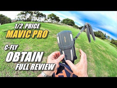 C-FLY OBTAIN Review - Half Priced DJI Mavic Pro (Full Review with Fly Away & Crash!)  - UCVQWy-DTLpRqnuA17WZkjRQ