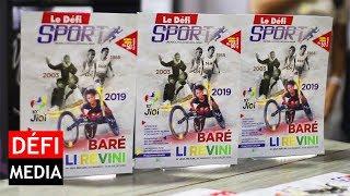 Le Défi Sport : lancement du magazine «Spécial Jeux des îles»