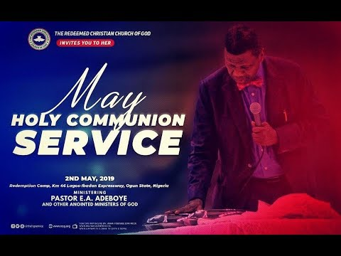 RCCG MAY 2019 HOLY COMMUNION SERVICE - SWIMMING IN GLORY5