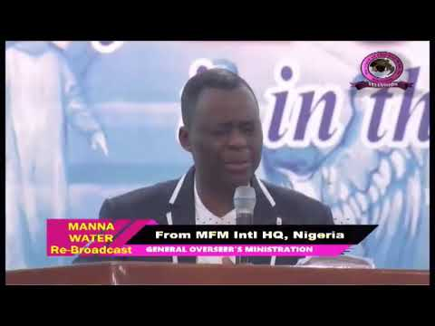 FRENCH MFM SPECIAL MANNA WATER SERVICE WEDNESDAY APRIL 1ST 2020