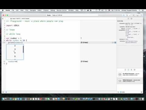 21- loops in swift 2 – while & repeat