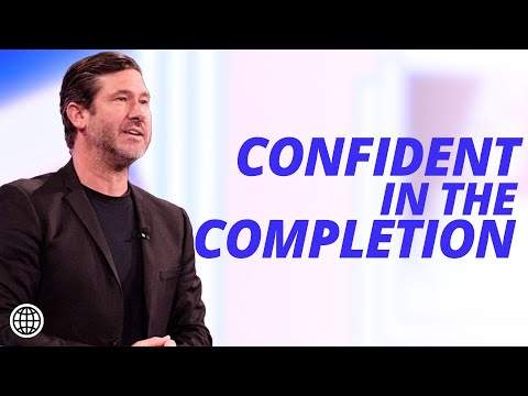 Confident In The Completion  Nathanael Wood  Hillsong Church Online