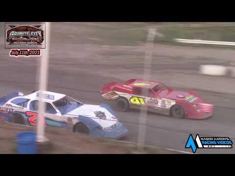 Granite City Motor Park WISSOTA Super Stock A-Main (7/11/21) - dirt track racing video image