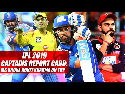IPL 2019 Captains Report Card: MS Dhoni, Rohit Sharma On Top
