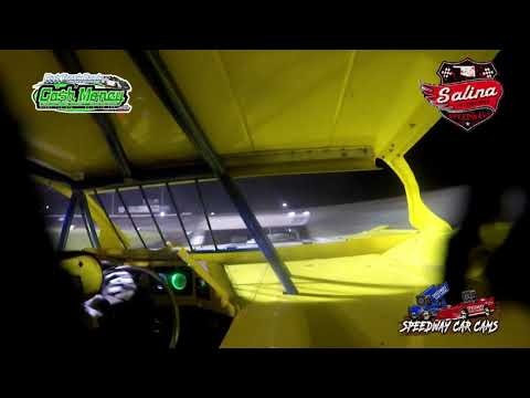 #55 Danny Miller - Cash Money Late Model - 5-1-2021 Salina Highbanks Speedway - In Car Camera - dirt track racing video image