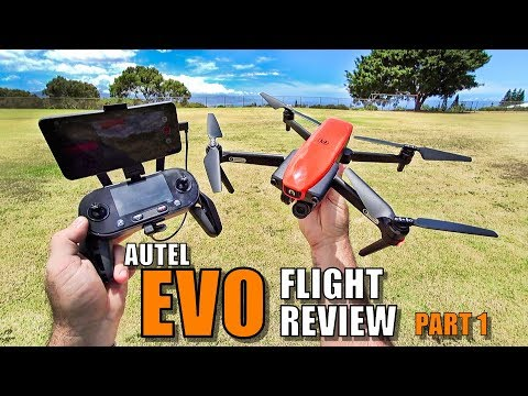 AUTEL EVO Review - [Flight Test Part 1 In-Depth / Pros & Cons] Better Than a Mavic? - UCVQWy-DTLpRqnuA17WZkjRQ