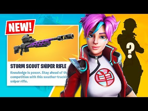 New LEGENDARY STORM SCOUT SNIPER Gameplay! (Fortnite Battle Royale) - UC2wKfjlioOCLP4xQMOWNcgg