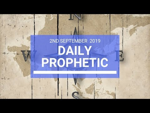 Daily Prophetic 2 September Word 2