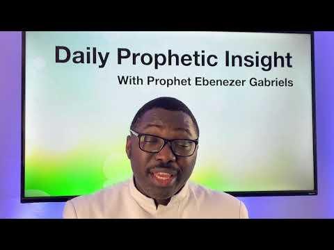Prophetic Insight Feb 19th, 2021