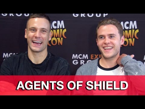 Agents of SHIELD Season 3 Fitz & Hunter Interview - Iain De Caestecker & Nick Blood - UCS5C4dC1Vc3EzgeDO-Wu3Mg