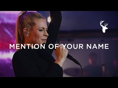 Mention of Your Name - Jenn Johnson  Moment