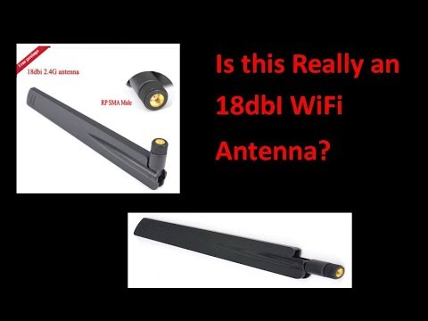 Is this Really an 18dbI WiFi Antenna? - UCHqwzhcFOsoFFh33Uy8rAgQ