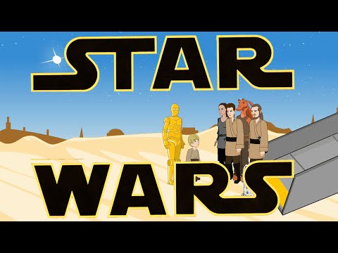 Star Wars Episodes I-III in 3 Minutes (Star Wars Animation) - UCYW45MHXiBHQ8KMK_79VwEQ