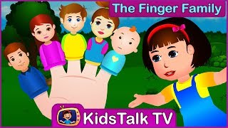 The Finger Family Song | Kids Talk TV - Nursery Rhymes & Baby for Children