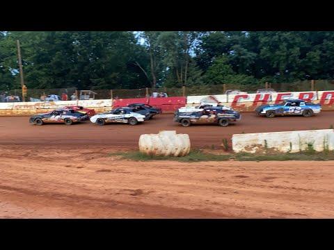 7/31/2021 Pure Stock Cherokee Speedway - dirt track racing video image