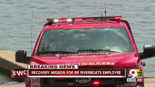 BB Riverboats worker fell into Ohio River, presumed drowned