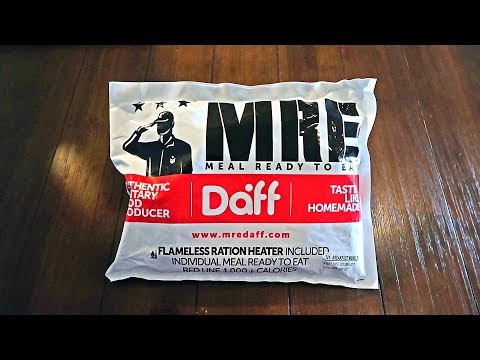 Tasting Chilean Military MRE (Meal Ready to Eat) Single Meal - UCe_vXdMrHHseZ_esYUskSBw