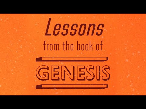 Lessons From the Book of Genesis - Tony Evans