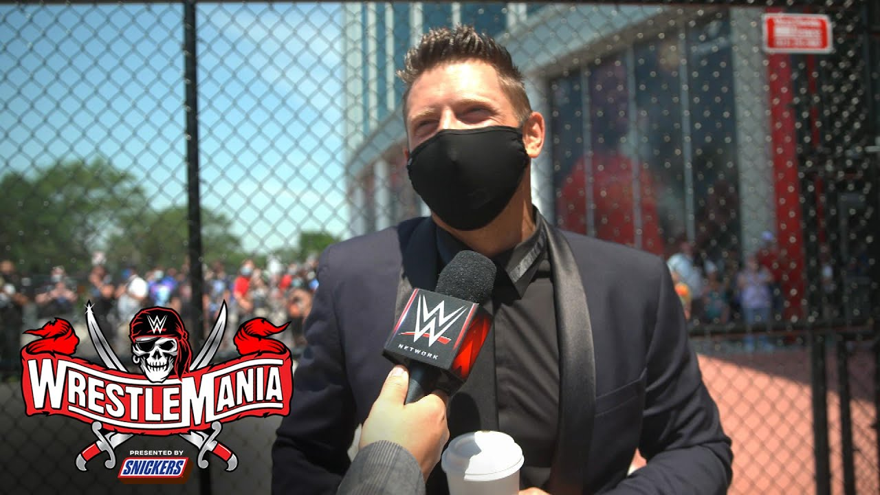 The Miz & John Morrison are pumped for the WrestleMania crowd: WrestleMania Exclusive, Apr 10, 2021