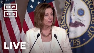 Pelosi Holds Press Conference Amid Migrant Detention Concerns | NowThis